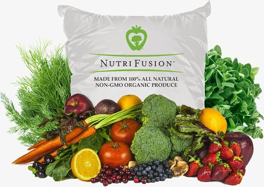 NutriFusion All Natural Non-GMO Organic Product Nutraceutical Nutritional Supplement Science