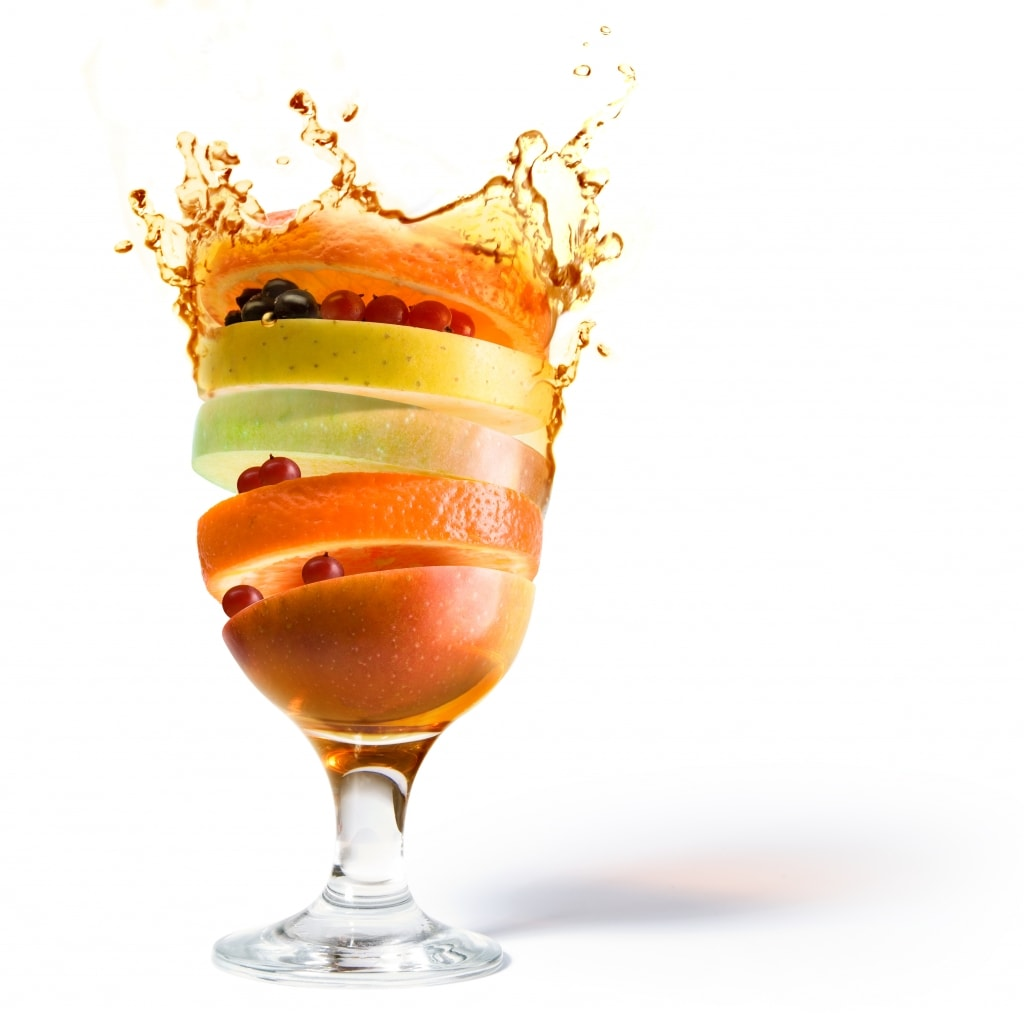 beverages from whole fruit and vegetables nutrients vitamins