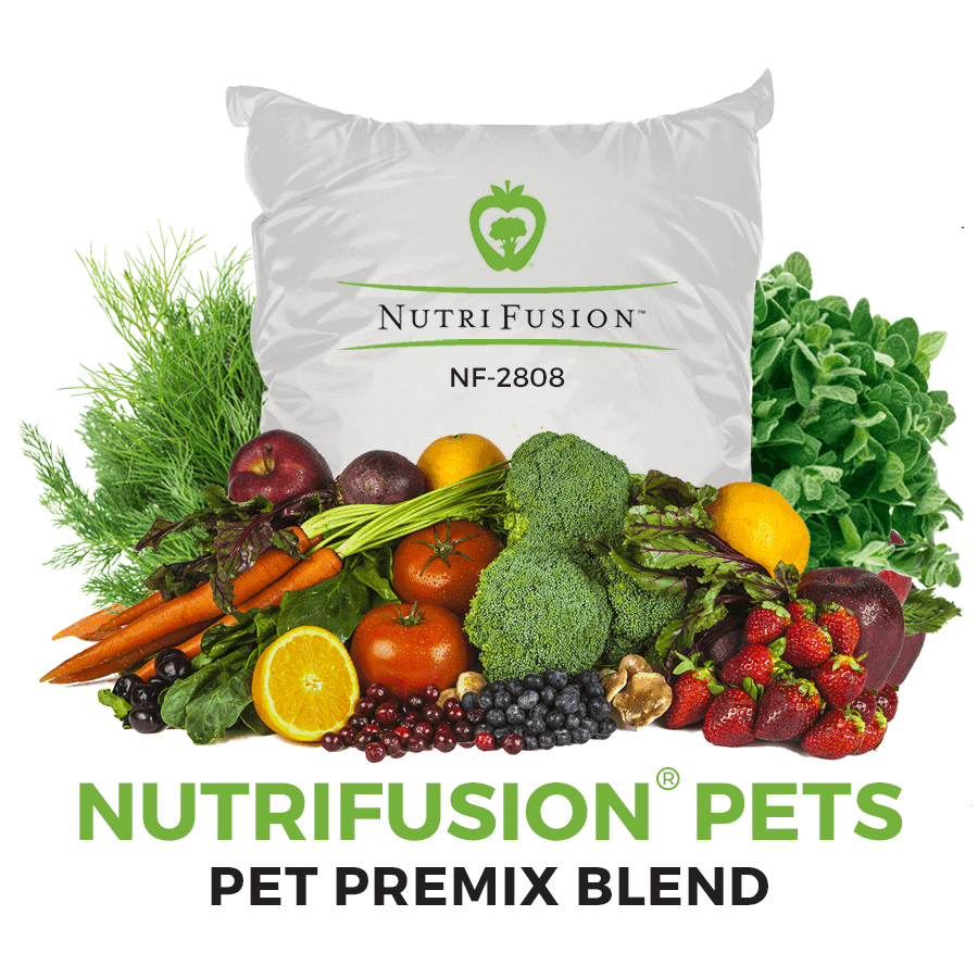 NF-2808 pet premix dog cat food vitamins minerals fruits and vegetables