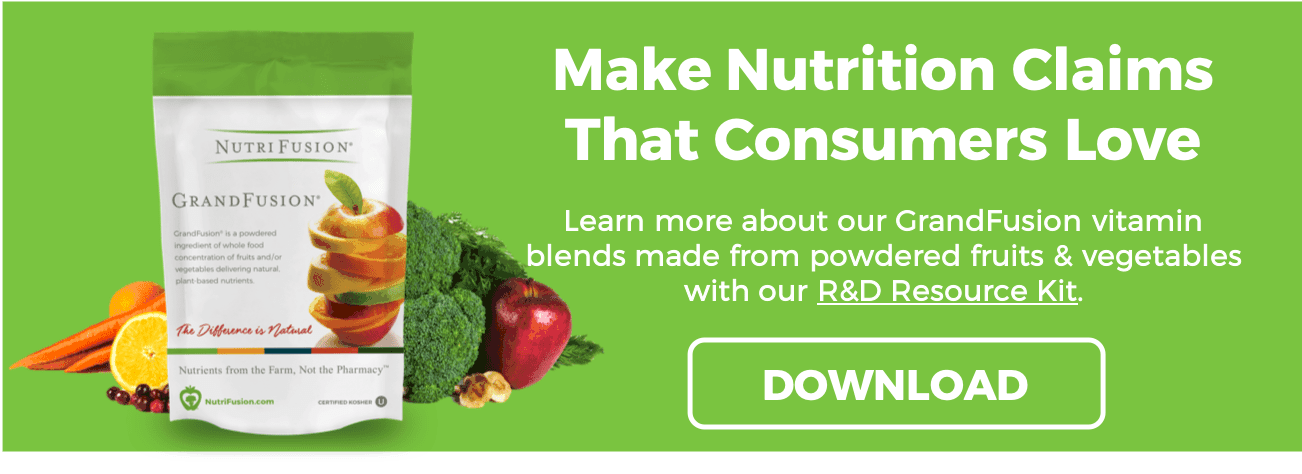 nutrifusion download R&D resource kit