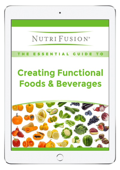 essential guide to functional foods and beverages vitamins minerals plant-based fruits vegetables new products